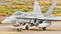 CE.15-09 - Spain - Air Force McDonnell Douglas EF-18B Hornet aircraft