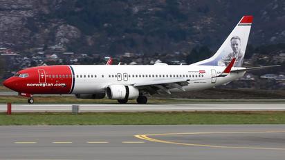 LN-NGB - Norwegian Air Shuttle Boeing 737-800