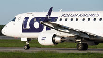 SP-LDH - LOT - Polish Airlines Embraer ERJ-170 (170-100) aircraft