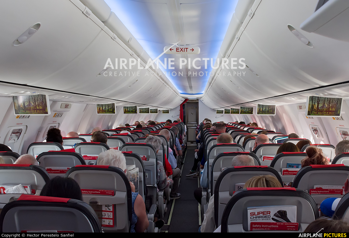 Norwegian Air Shuttle EI-FVR aircraft at In Flight - International