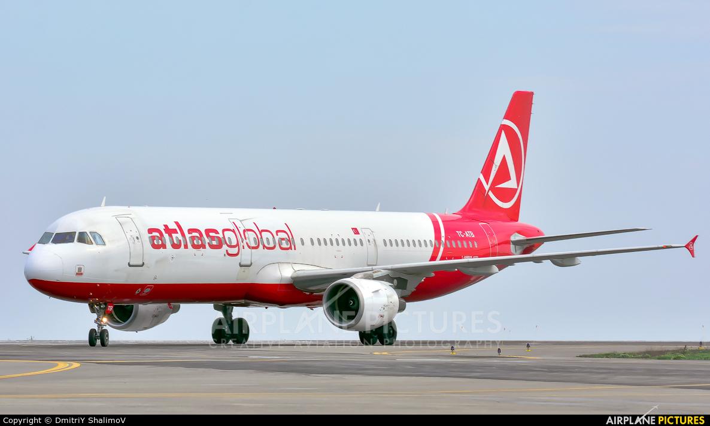 Atlasglobal TC-ATB aircraft at Belgorod Intl