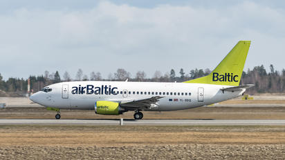 YL-BBQ - Air Baltic Boeing 737-500