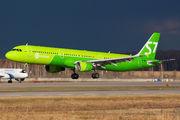 VQ-BQI - S7 Airlines Airbus A321 aircraft