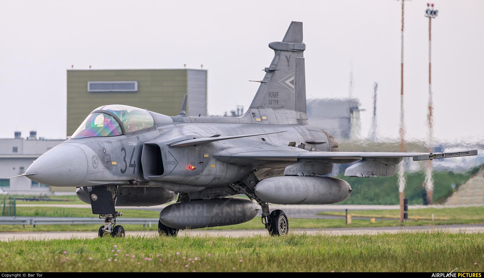 Hungary - Air Force 34 aircraft at Poznań - Krzesiny