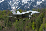 J-5023 - Switzerland - Air Force McDonnell Douglas F/A-18C Hornet aircraft