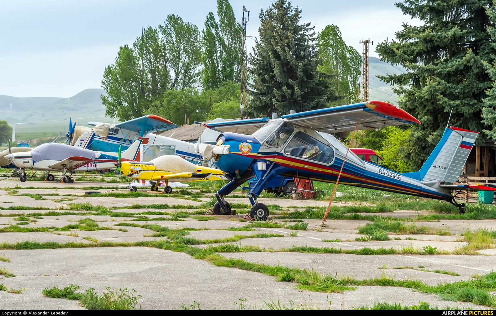 Private RA-2484G aircraft at Off Airport - Russia