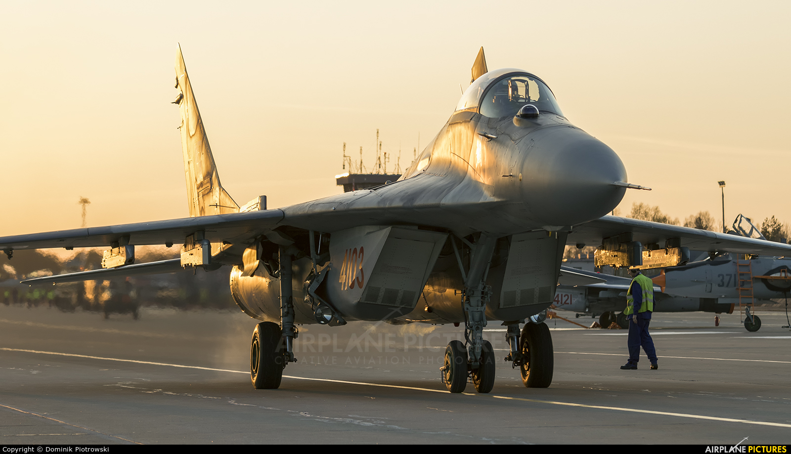 Poland - Air Force 4103 aircraft at Świdwin