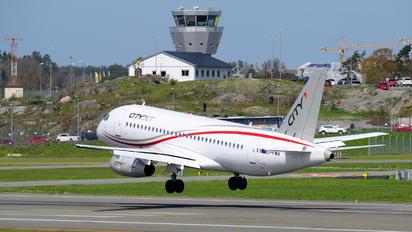 EI-FWB - Brussels Airlines Sukhoi Superjet 100