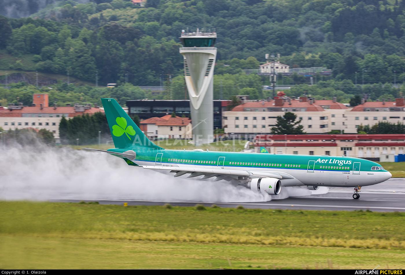 Aer Lingus EI-GEY aircraft at Bilbao