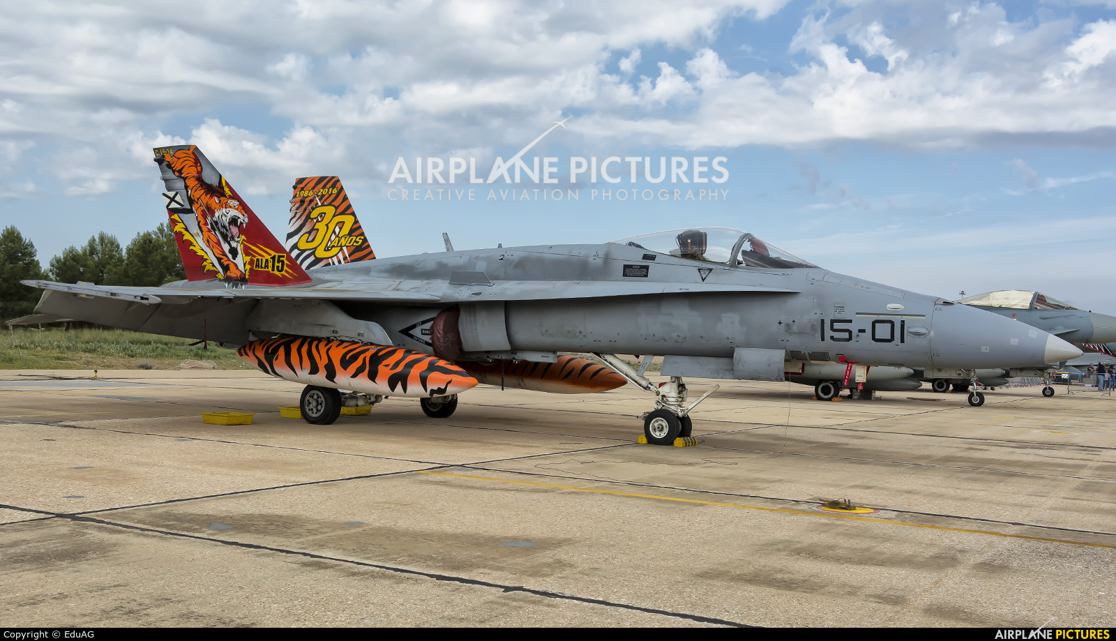 Spain - Air Force C.15-14 aircraft at Albacete