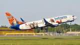 SunExpress Boeing 737-800 TC-SNY at Warsaw - Frederic Chopin airport
