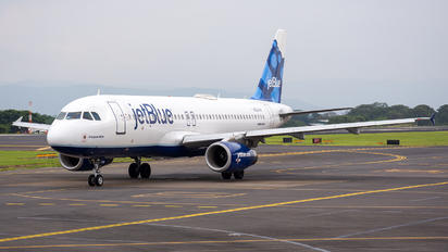 N536JB - JetBlue Airways Airbus A320