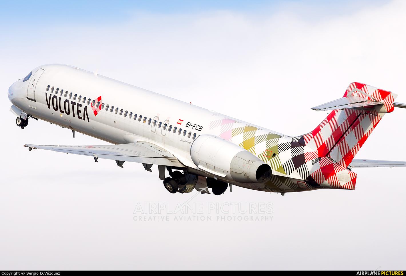 Volotea Airlines EI-FCB aircraft at Alicante - El Altet