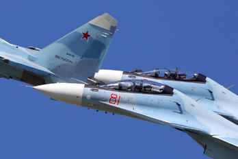 RF-81739 - Russia - Air Force Sukhoi Su-30SM