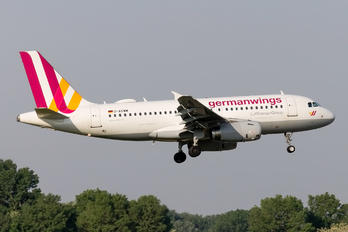 D-AGWM - Germanwings Airbus A319