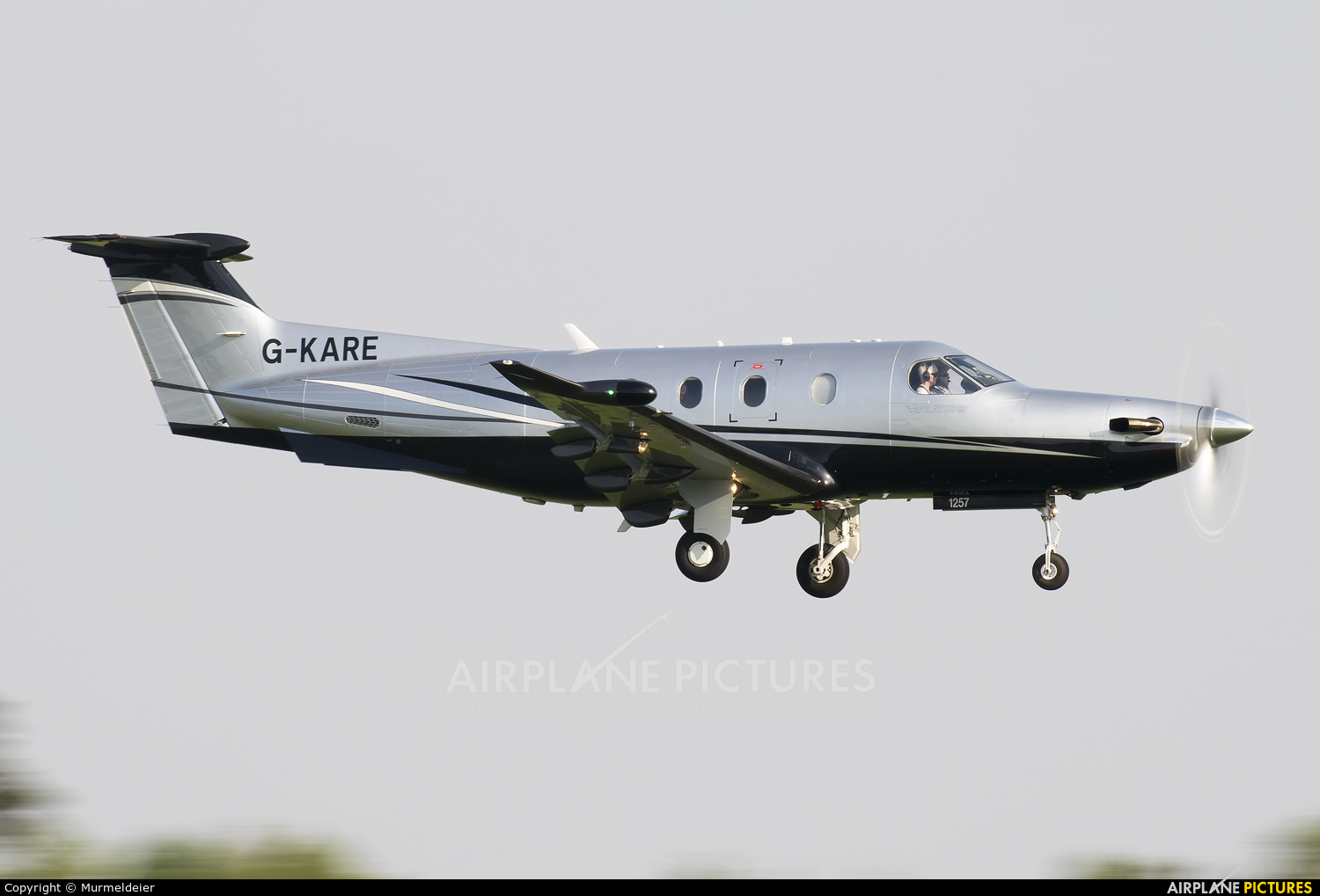 Private G-KARE aircraft at Luxembourg - Findel