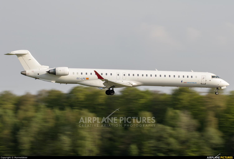 Air Nostrum - Iberia Regional EC-LPG aircraft at Luxembourg - Findel