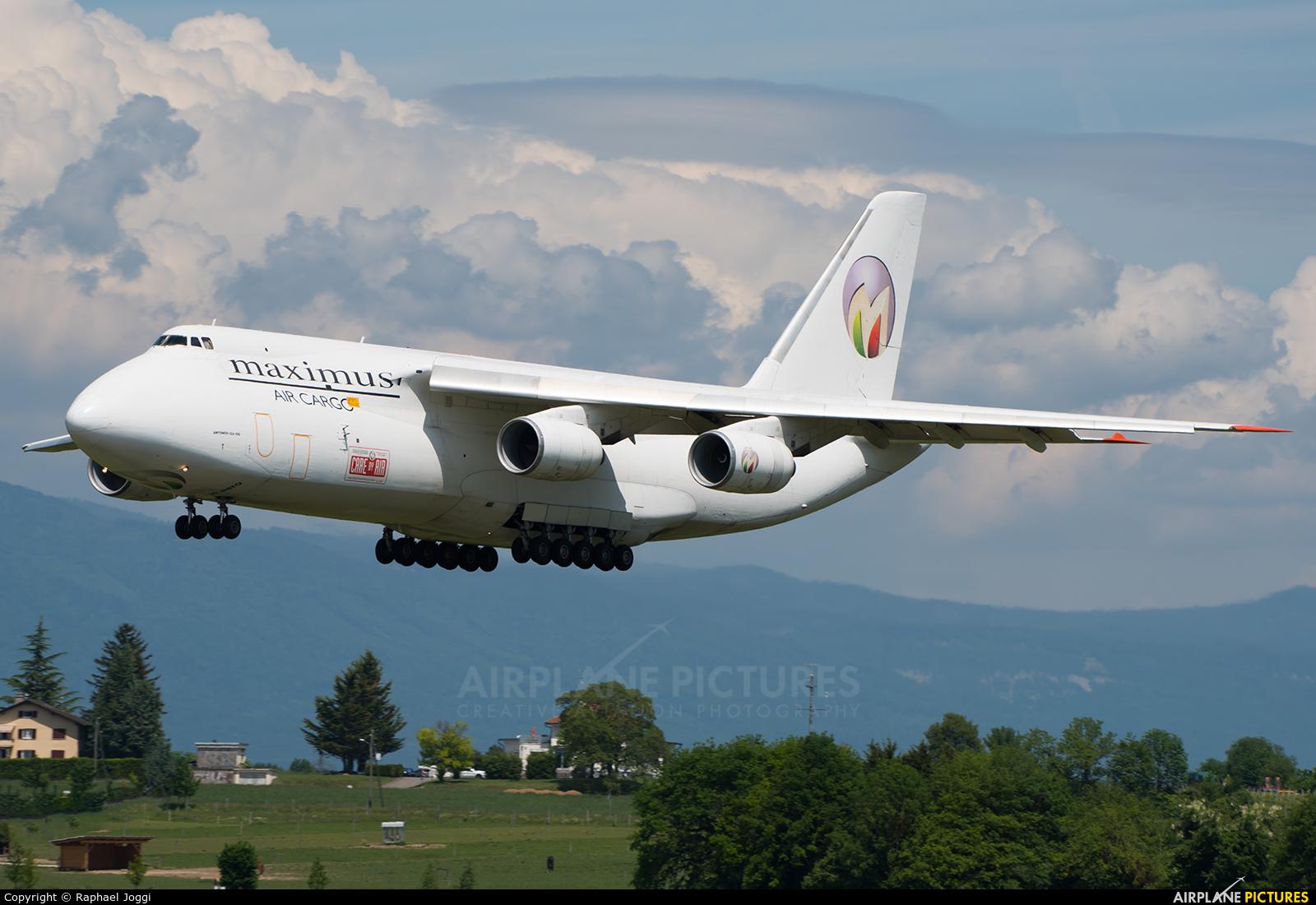 Maximus Air Cargo UR-ZYD aircraft at Geneva Intl