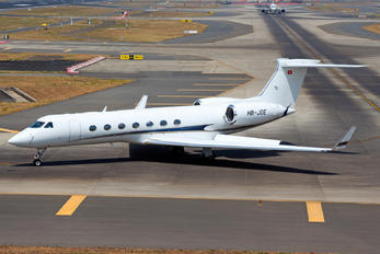 HB-JOE - Private Gulfstream Aerospace G-V, G-V-SP, G500, G550