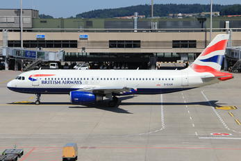 G-EUUK - British Airways Airbus A320