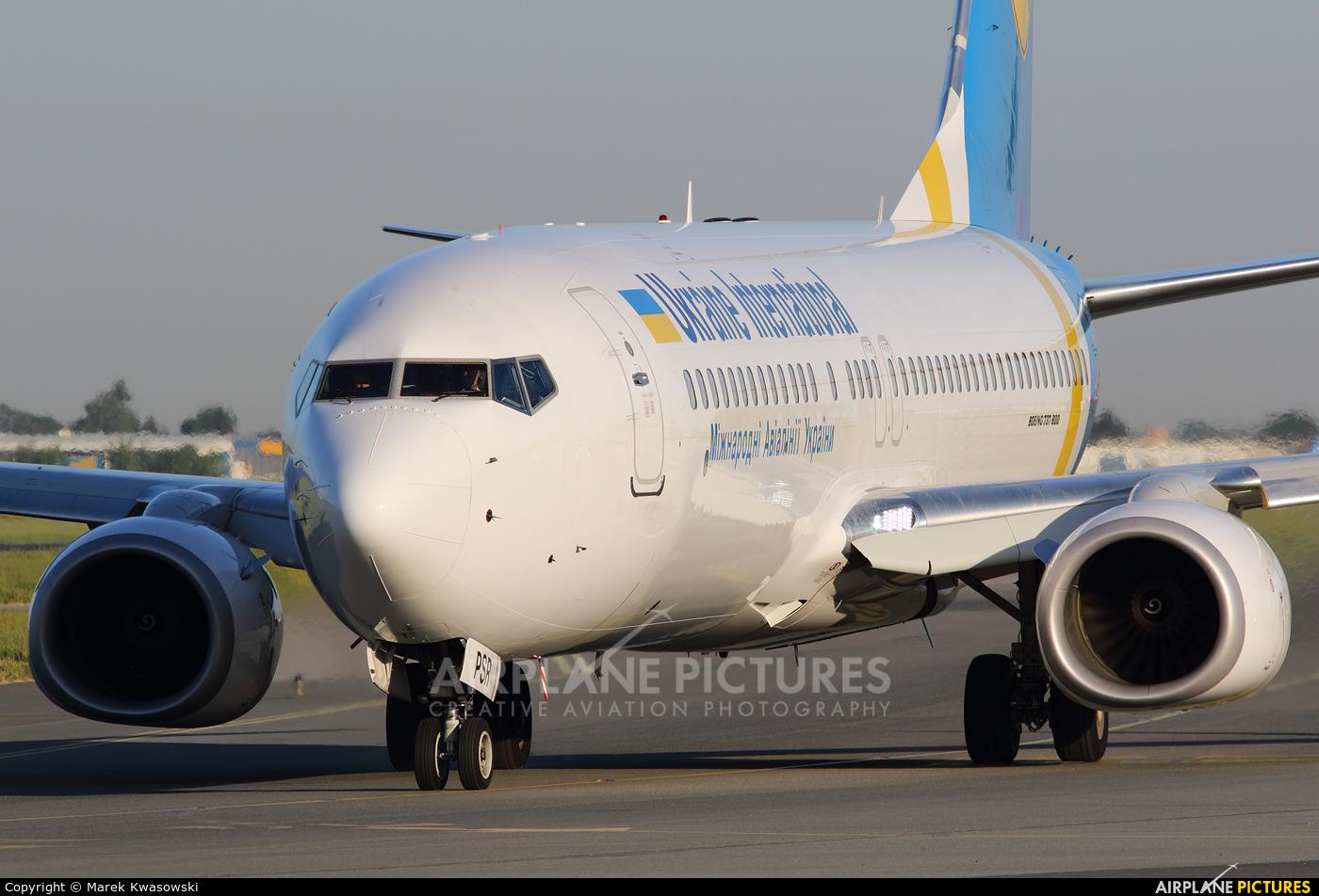 Ukraine International Airlines UR-PSR aircraft at Warsaw - Frederic Chopin