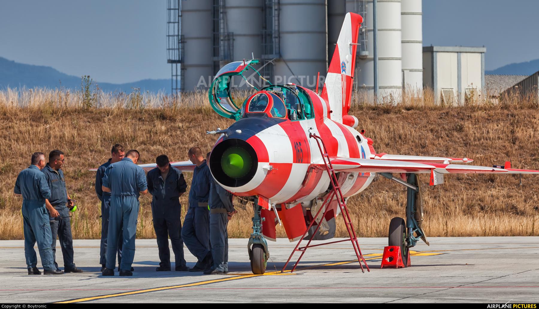 Croatia - Air Force 165 aircraft at Zagreb