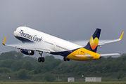 G-TCVD - Thomas Cook Airbus A321 aircraft