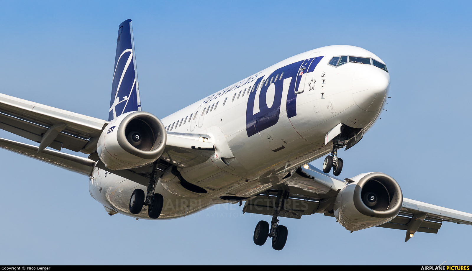 LOT - Polish Airlines SP-LLE aircraft at Frankfurt