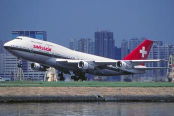 HB-IGC - Swissair Boeing 747-300