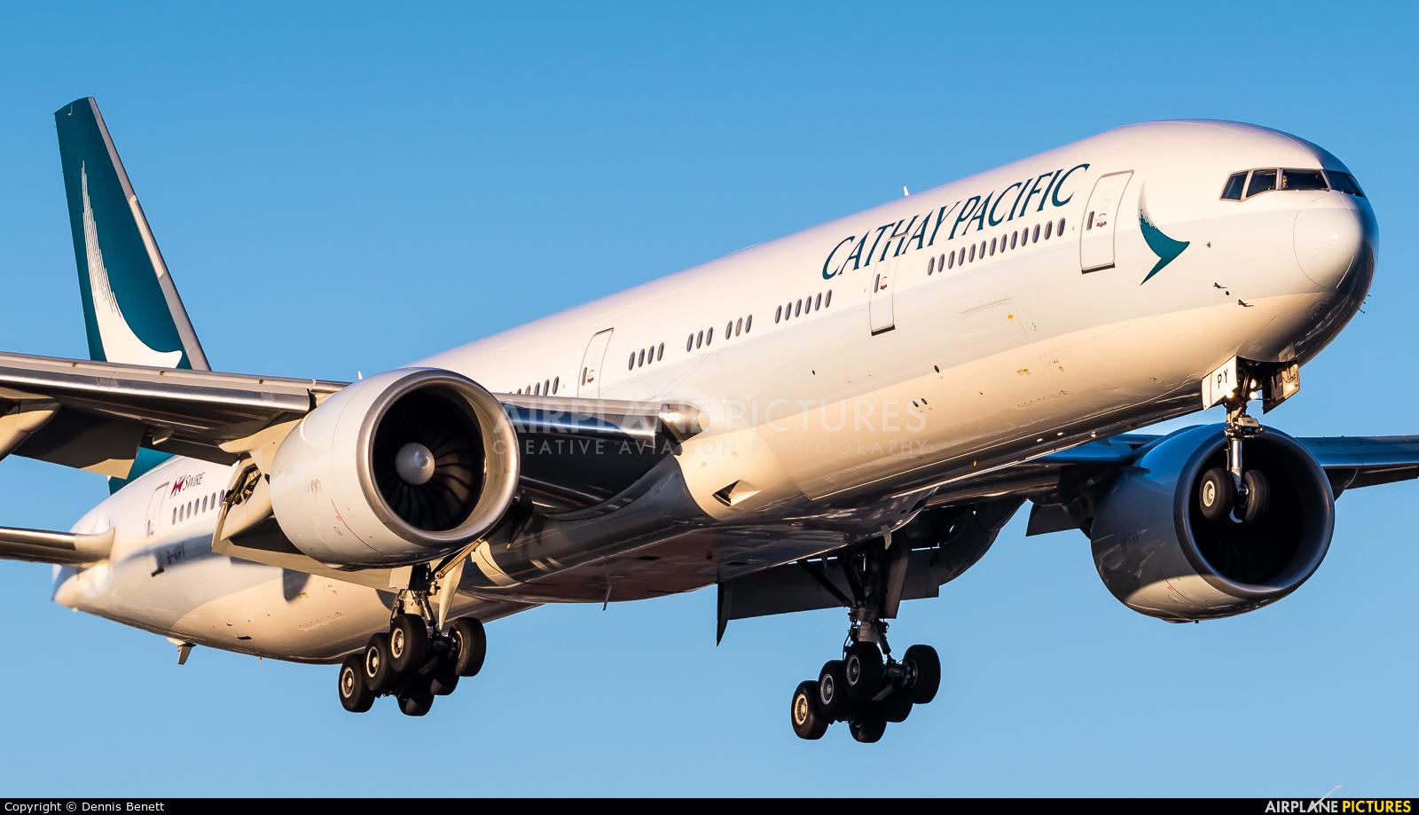 Cathay Pacific B-KPY aircraft at Toronto - Pearson Intl, ON
