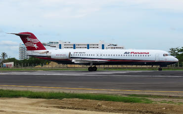 HP-1896PST - Air Panama Fokker 100