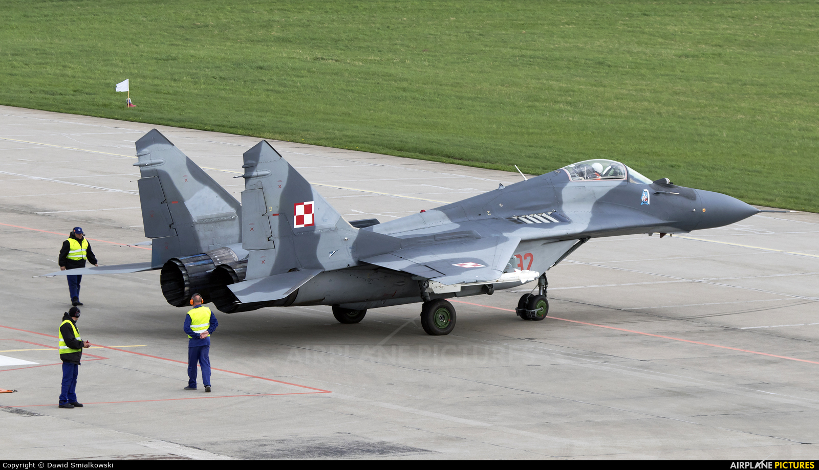 Poland - Air Force 92 aircraft at Świdwin