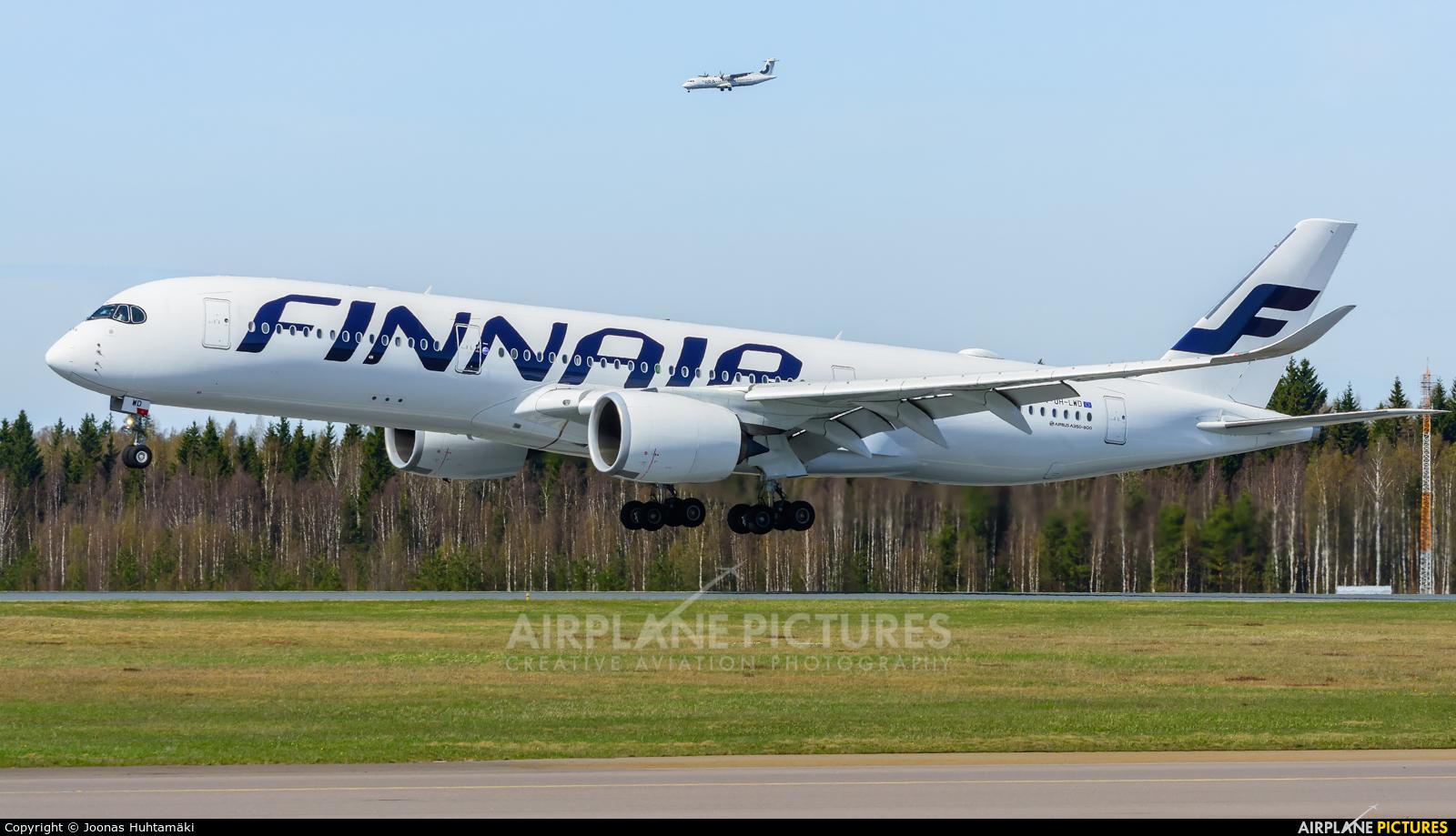 Finnair OH-LWD aircraft at Helsinki - Vantaa