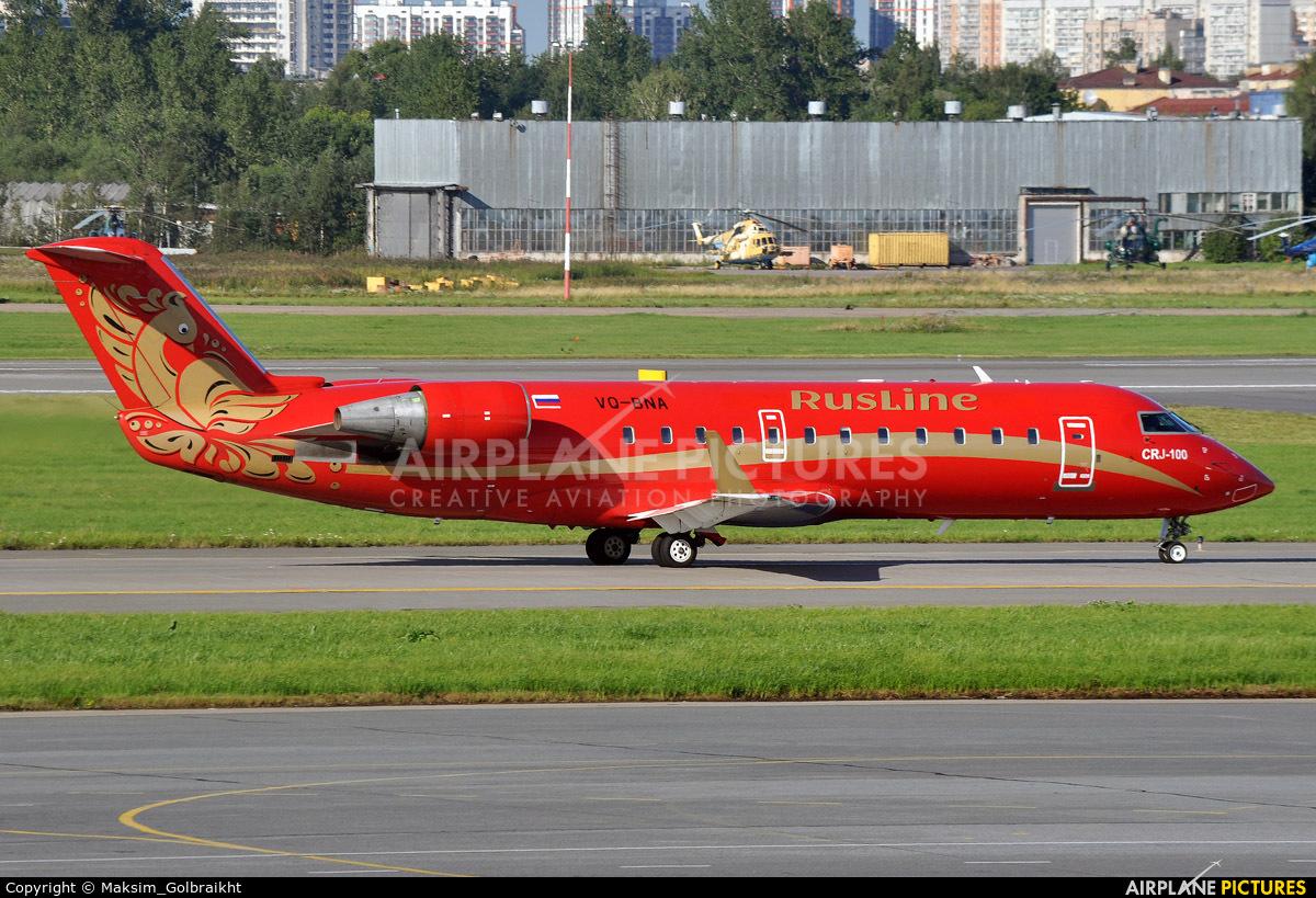 Rusline VQ-BNA aircraft at St. Petersburg - Pulkovo