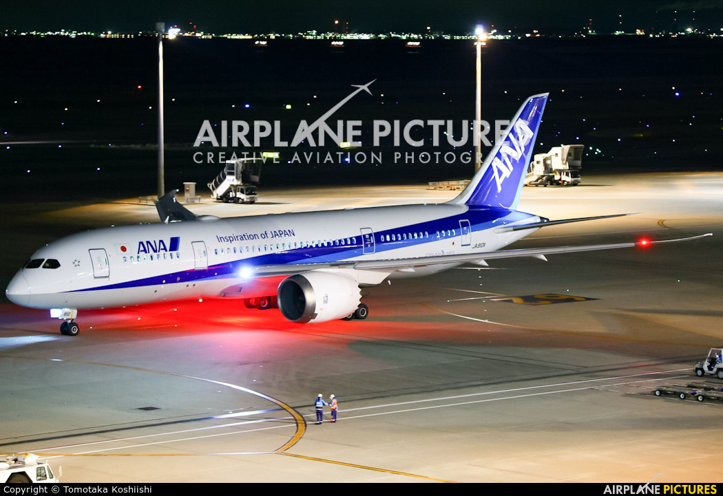 ANA - All Nippon Airways JA810A aircraft at Tokyo - Haneda Intl