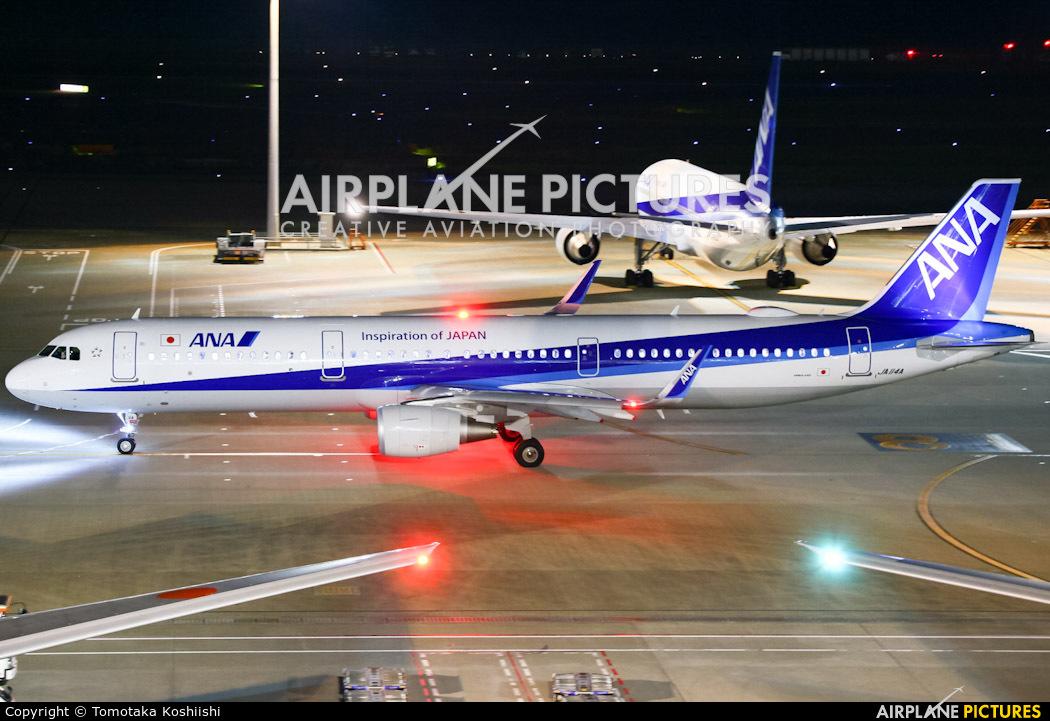 ANA - All Nippon Airways JA114A aircraft at Tokyo - Haneda Intl