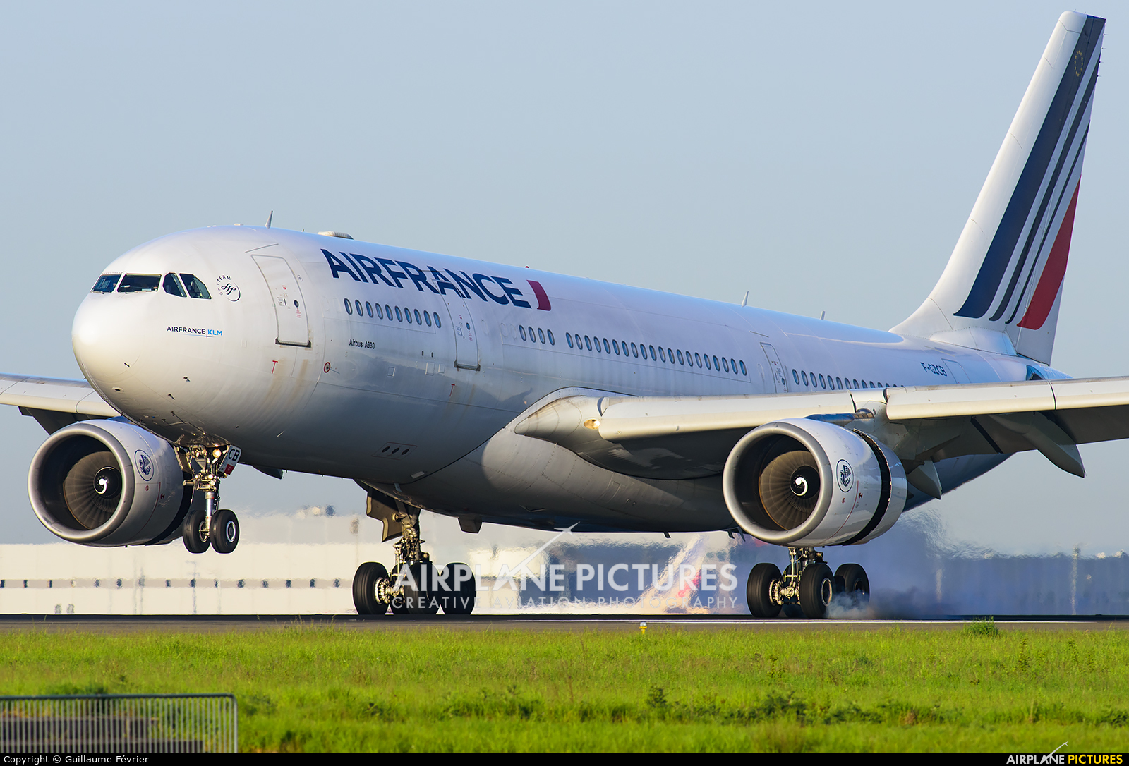 Air France F-GZCB aircraft at Paris - Charles de Gaulle