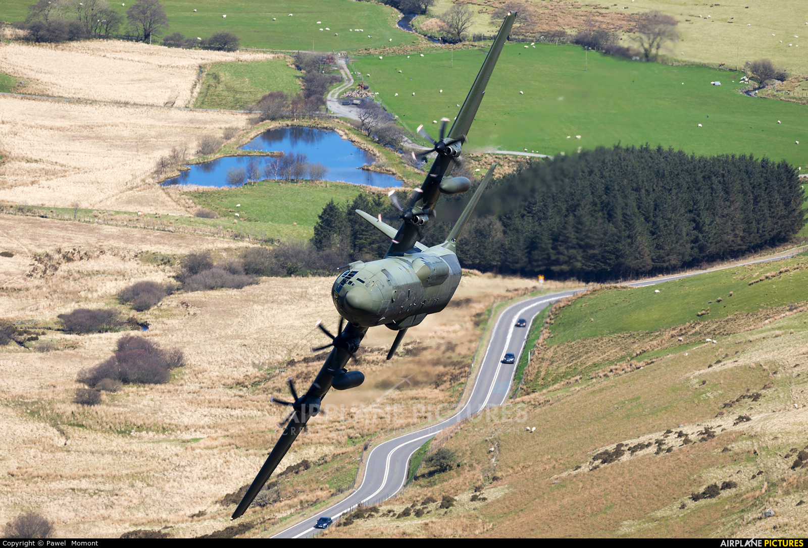 Royal Air Force ZH871 aircraft at Machynlleth Loop - LFA 7