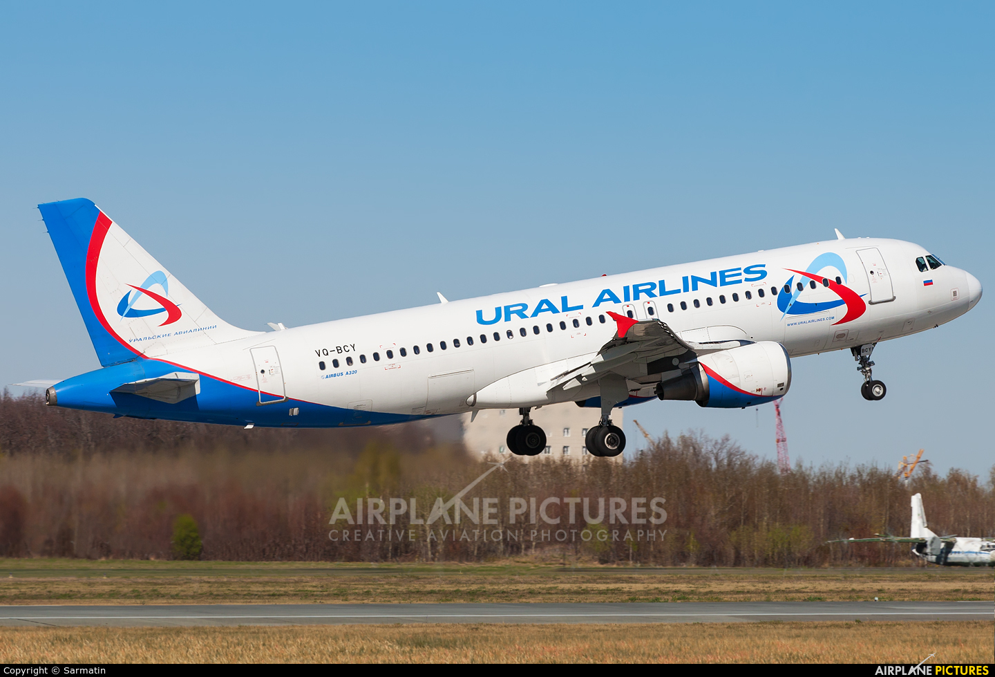 Ural Airlines VQ-BCY aircraft at Kazan