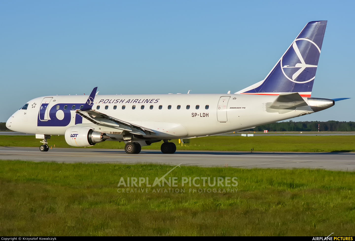 LOT - Polish Airlines SP-LDH aircraft at Katowice - Pyrzowice