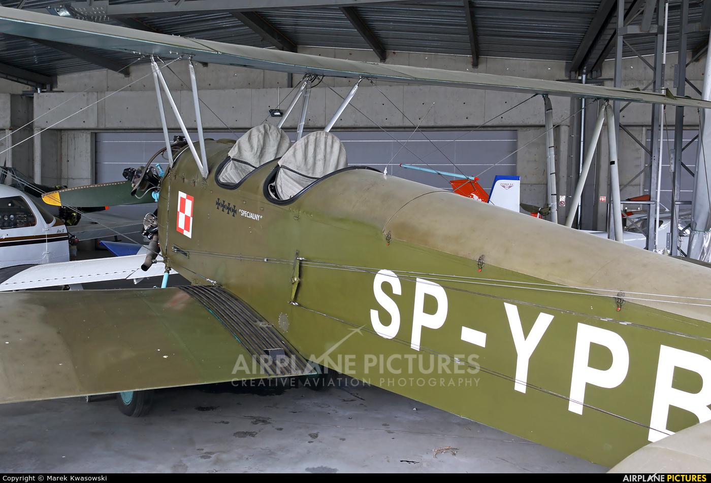 Silvair SP-YPB aircraft at Sobienie Królewskie