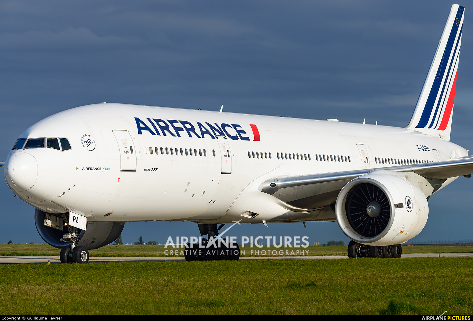Air France F-GSPA aircraft at Paris - Charles de Gaulle