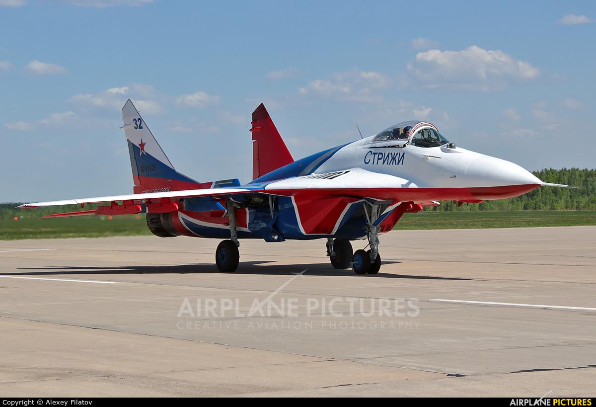 """Russia - Air Force """"Strizhi"""" RF-91925 aircraft at Kubinka"""