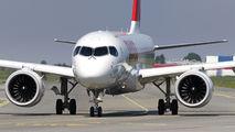 HB-JBA - Swiss Bombardier CS100 aircraft
