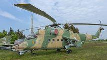 0124 - Czechoslovak - Air Force Mil Mi-24D aircraft