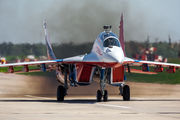 "02 - Russia - Air Force ""Strizhi"" Mikoyan-Gurevich MiG-29UB aircraft"