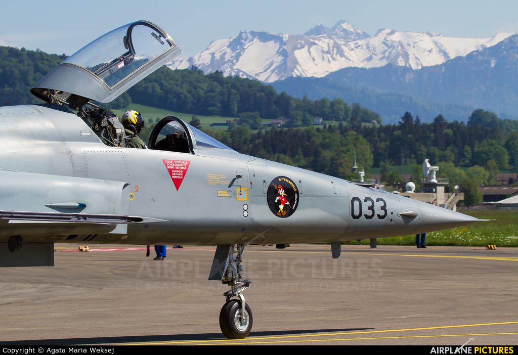 Switzerland - Air Force J-3033 aircraft at Emmen