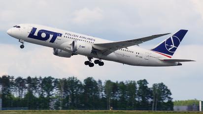 SP-LRA - LOT - Polish Airlines Boeing 787-8 Dreamliner
