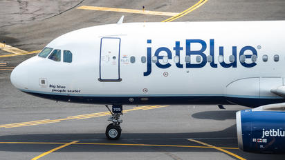 N705JB - JetBlue Airways Airbus A320