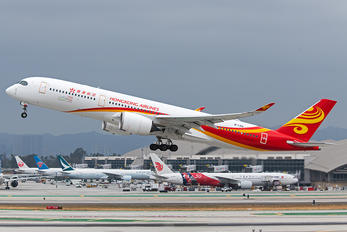 B-LGA - Hong Kong Airlines Airbus A350-900